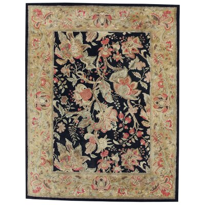 Capel Rugs Garden Farms Ebony Floral Rug