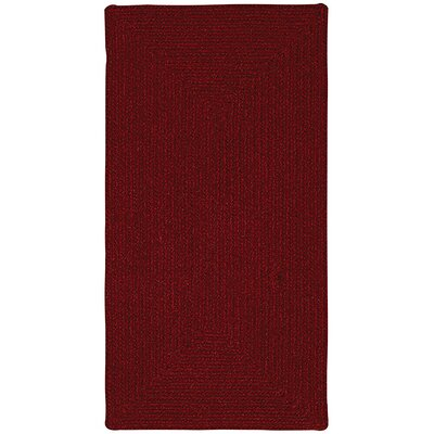 Capel Rugs Manteo Dark Red Rug