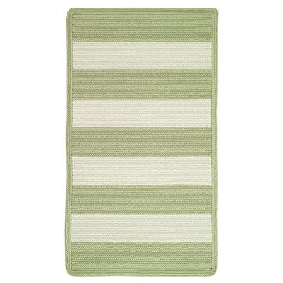 Willoughby Sage/White Rug