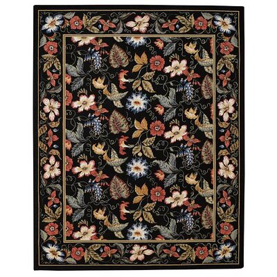 Capel Rugs English Garden Black Rug