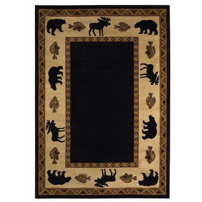 Capel Rugs Cottage Grove Ebony Novelty Rug