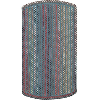 Briar Wood Medium Blue Indoor/Outdoor Rug