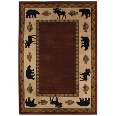 Capel Rugs Cottage Grove Wine Novelty Rug