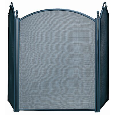 Uniflame Corporation 3 Panel Woven Mesh Fireplace Screen