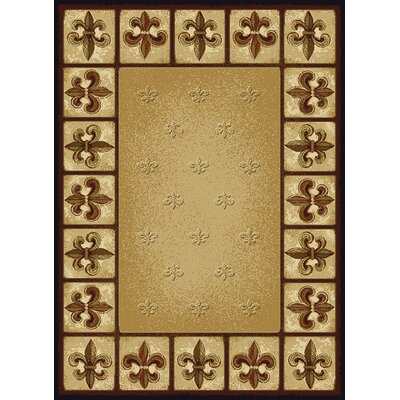 United Weavers of America China Garden Fleur De Lys Rug