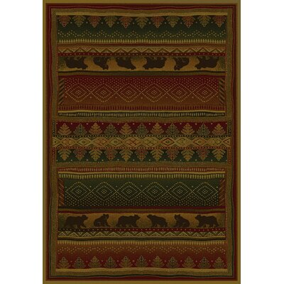 United Weavers of America Genesis Bearwalk Lodge Novelty Rug