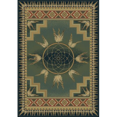 Genesis Dream Catcher Blue/Green Rug