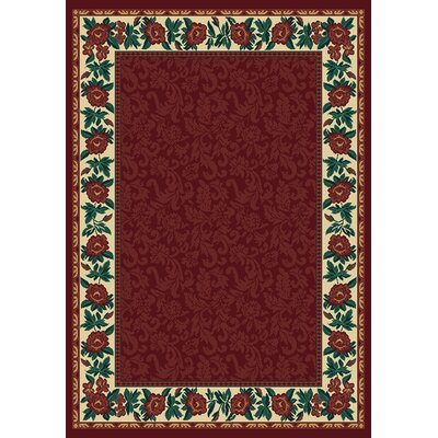 Manhattan Park Avenue Burgundy Rug