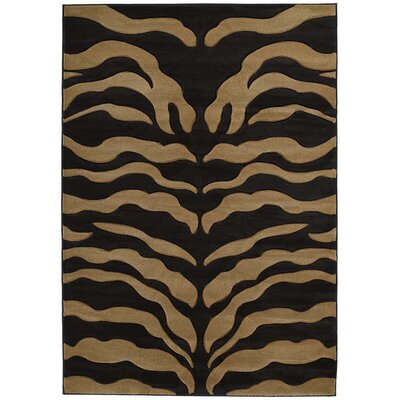 United Weavers of America Contours Wild Thing Beige/Black Rug