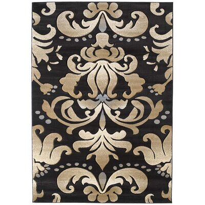 United Weavers of America Contours Lotus Chocolate Rug