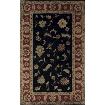 Dynamic Rugs Charisma Rosewood Black/Red Rug