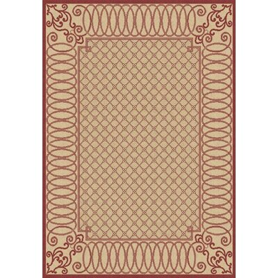Dynamic Rugs Piazza Beige/Red Rug