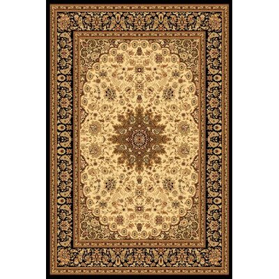 Yazd Cream/Black Rug