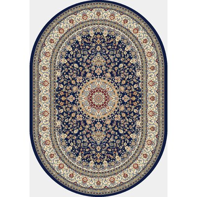 Dynamic Rugs Ancient Garden Blue/Ivory Rug