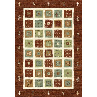 Dynamic Rugs Infinity Red/Beige Rug