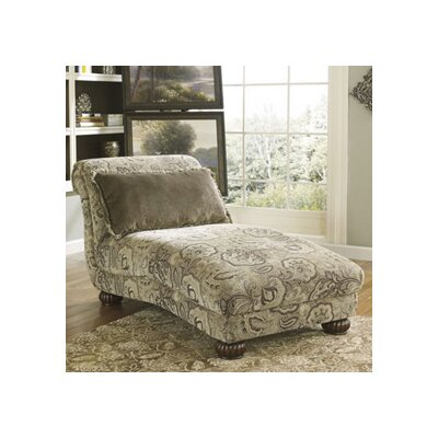 Benchcraft gracie anne chaise lounge reviews wayfair for Benchcraft chaise lounge
