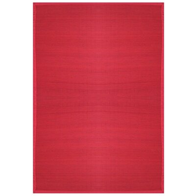 Bamboo Rugs Villager Crimson Rug