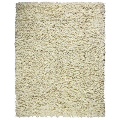 Anji Mountain Creme Paper Shag Rug