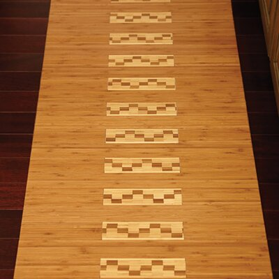 Anji Mountain Bamboo Kitchen and Bath Mat