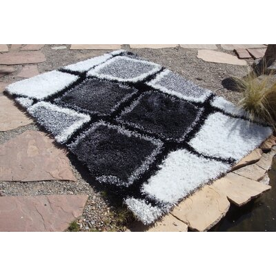 Foreign Accents Ragtime Black Rug