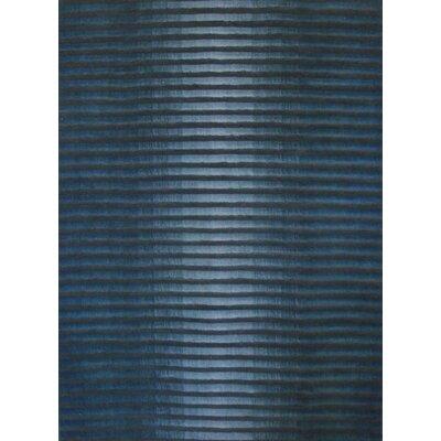 Foreign Accents Boardwalk Marine Blue/Dark Grey Rug