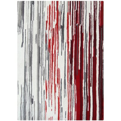 Foreign Accents Boardwalk Off-White/Red Rug