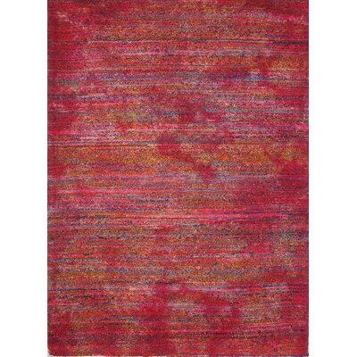 Foreign Accents Boardwalk Red/Magenta Rug