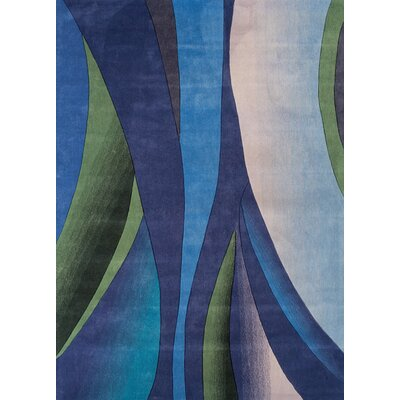 Foreign Accents Festival Blue/Green Rug