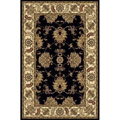 Radici USA Noble Black Rug