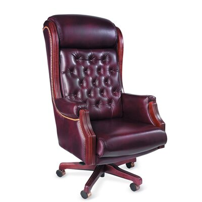 Presidential High-Back Office Chair with Arms
