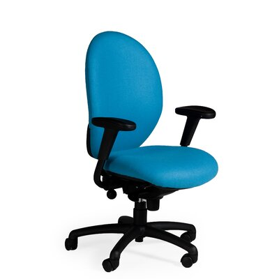 Task Advantage High-Back Task Chair with T-Arms
