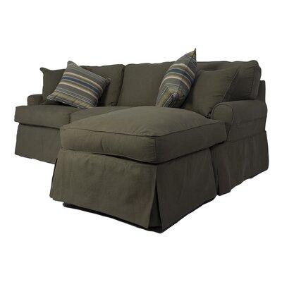 Horizon Sleeper Sofa and Chaise Slipcover