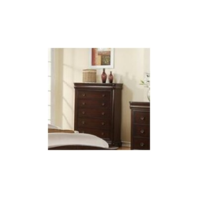 Sunset Trading Cameron 5 Drawer Chest