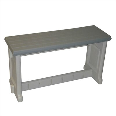 Leisure Accents Plastic Picnic Bench