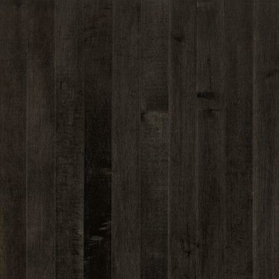 "Armstrong Sugar Creek Plank 3-1/4"" Solid Maple Flooring in Midnight"