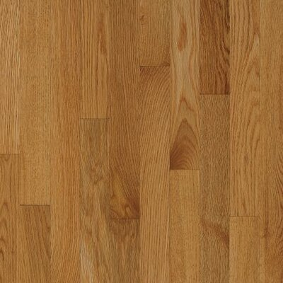 "Armstrong Kingsford Strip 2-1/4"" Solid White Oak Flooring in Sahara"