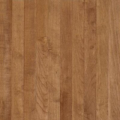 """Armstrong Sugar Creek Strip 2-1/4"""" Solid Maple Flooring in Toasted Almond"""