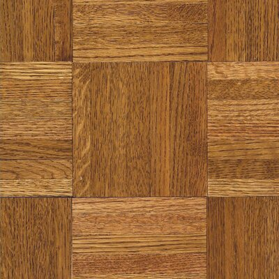 Armstrong SAMPLE - Urethane Parquet Solid Oak in Honey