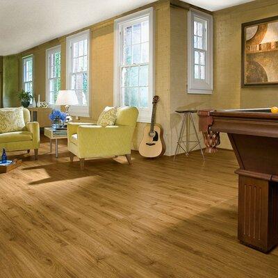 """Armstrong Luxe Jefferson Oak 6"""" x 36"""" Vinyl Plank in Golden"""