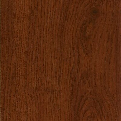 "Armstrong Luxe Jefferson Oak 6"" x 36"" Vinyl Plank in Cherry"