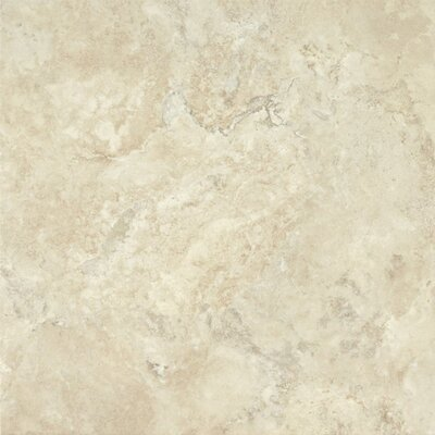 "Armstrong Alterna Durango 16"" x 16"" Vinyl Tile in Cream"