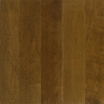 "Armstrong Performance Plus 5"" Acrylic-Infused Engineered Birch Flooring in Dark Forest"