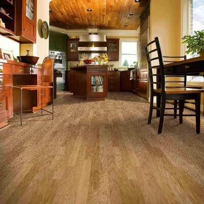 "Armstrong Performance Plus 5"" Acrylic-Infused Engineered Red Oak Flooring in Natural"