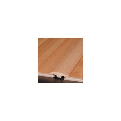 "Armstrong 0.25"" x 2"" Red Oak T-Molding in Large Rock Rose"
