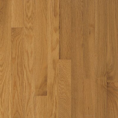 "Armstrong Somerset Strip 2-1/4"" Solid White Oak Flooring in Large Maize"