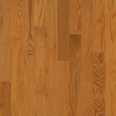 "Armstrong Yorkshire Plank 3-1/4"" Solid White Oak Flooring in Canyon"