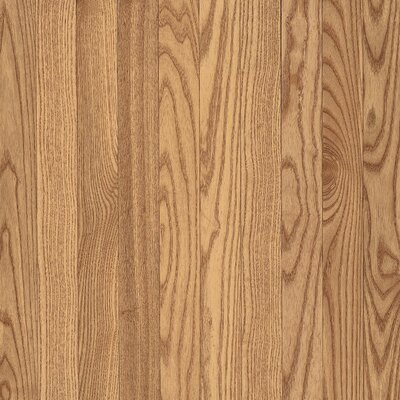 "Armstrong Yorkshire Plank 3-1/4"" Solid Red Oak Flooring in Pioneer Natural"