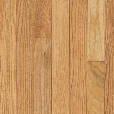 "Armstrong Yorkshire Strip 2-1/4"" Solid Red Oak Flooring in Pioneer Natural"
