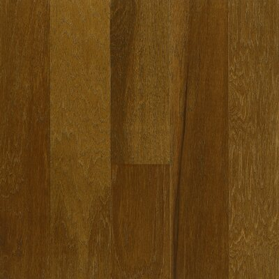 "Armstrong Performance Plus 5"" Acrylic-Infused Engineered Hickory Flooring in Chocolate Cosmos"