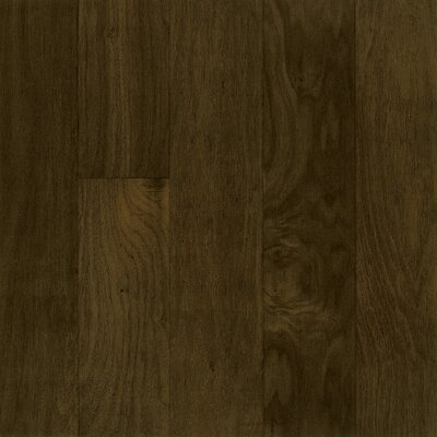 "Armstrong Performance Plus 5"" Acrylic-Infused Engineered Walnut Flooring in Deep Twilight"